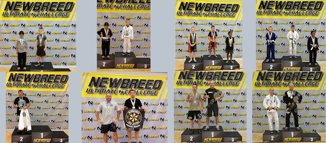 Silverbacks Compete at Newbreed Grappling in Chicago!