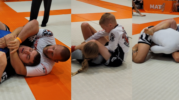 Silverback BJJ in action